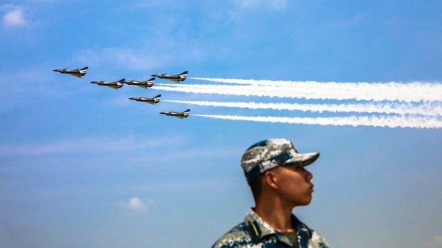 پنتاگون: خلبانان چینی احتمالا مشغول آموزش برای حمله به هدفهای غرب هستند