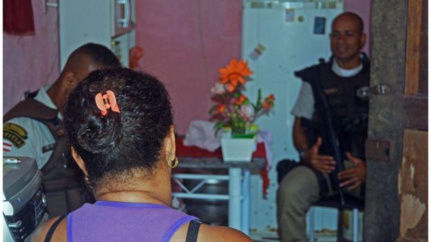 Visita da Ronda Maria da Penha em Salvador