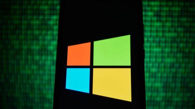 Símbolo Microsoft.