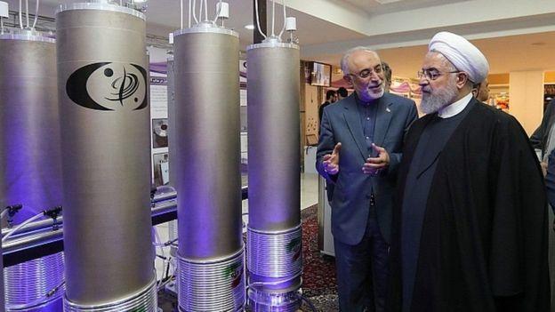 Madaxweynaha Iran oo kormeeraya xarumaha nukliyeerka midkood