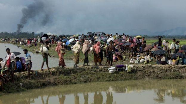 هرب مئات الآلاف من مسلمي الروهينجا من ميانمار بسبب العنف في عام 2017