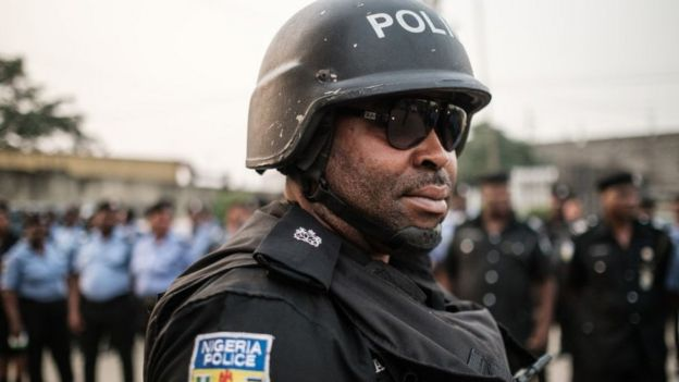 Nigerian policeman