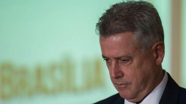 O governador de Brasília Rodrigo Rollemberg