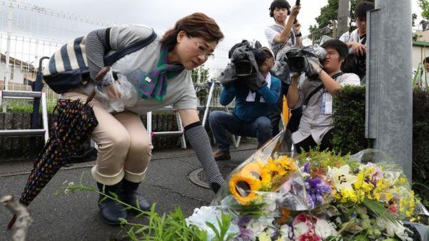 Homenaje a las víctimas del incendio de KyoAni