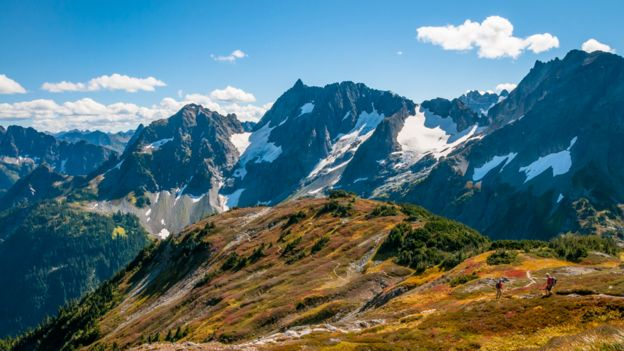 Parque nacional de las Cascadas del Norte en Estados Unidos