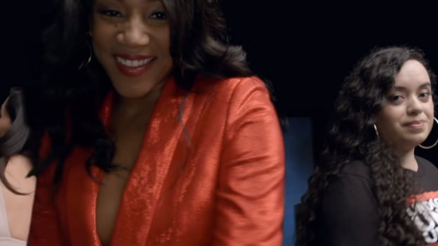 Tiffany Haddish and Angy Rivera
