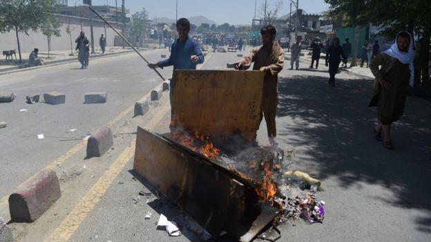 کابل کې لاریون