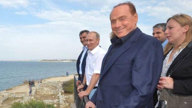 Берлусконі в Криму
