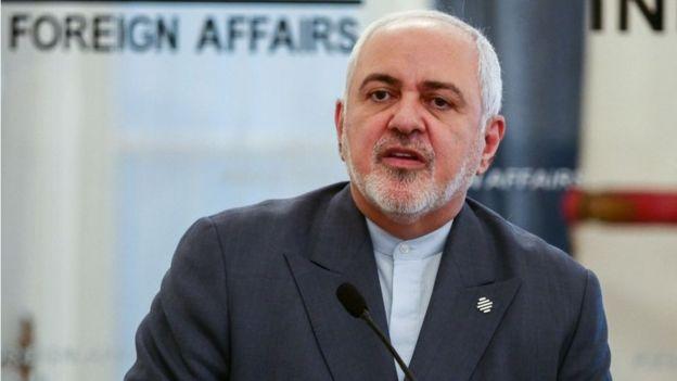El ministro de Relaciones Exteriores de Irán, Mohamed Javad Zarif
