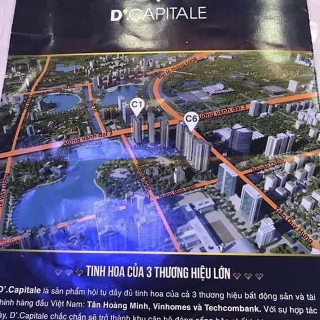 Khu phức hợp căn hộ D'Capitale 'hội tụ đầy đủ tinh hoa'