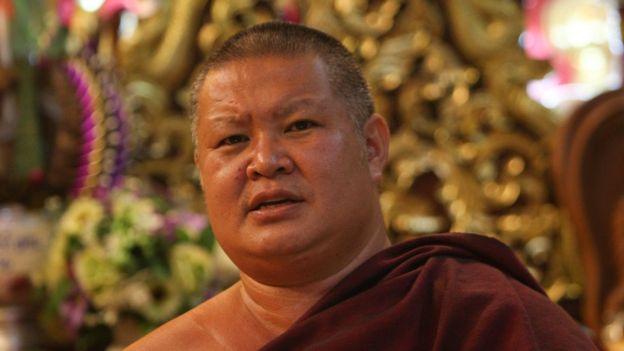 帕拉塔多瓦寺的助理住持Phra Kru Praiyatipiyanan