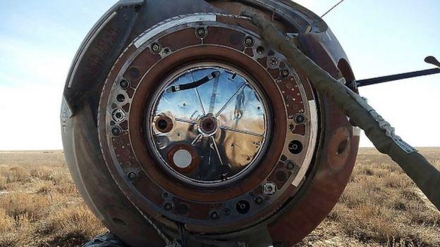 Emergency landing of Soyuz MS-10 spacecraft crew in Kazakhstan