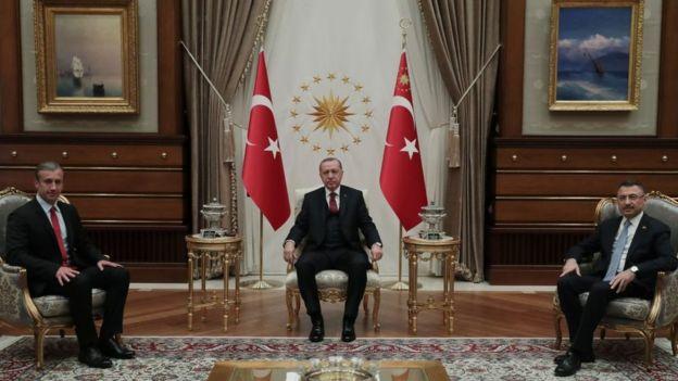 El Aissami en su visita a Turquía.