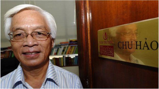 Ảnh chụp Giáo sư Chu Hảo hồi năm 2010.