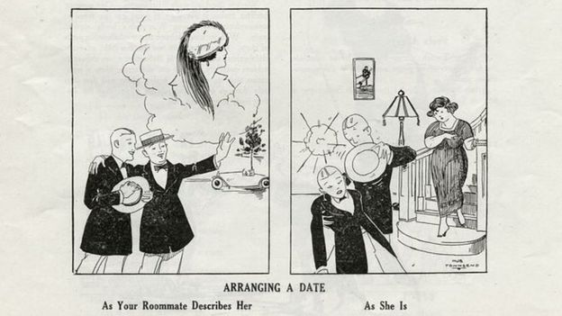 Is this 1921 cartoon the first ever meme? - BBC News
