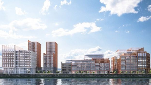 Buchanan Wharf development