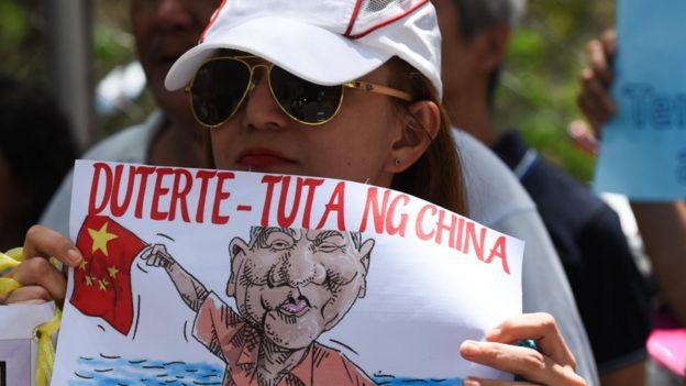 Người Philippines biểu tình phản đối TQ