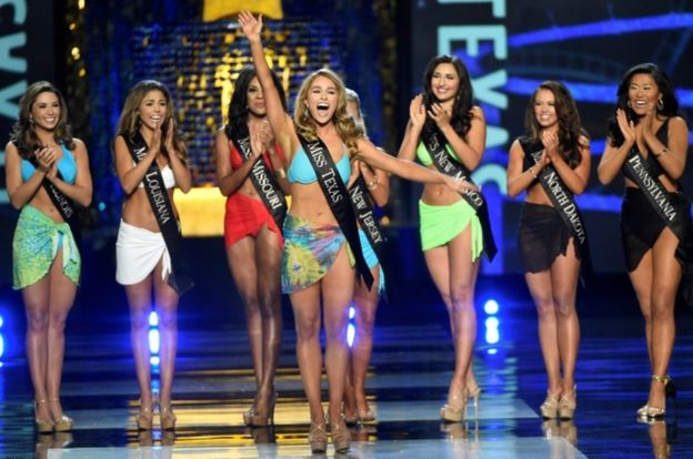 Мисс Техас на конкурсе