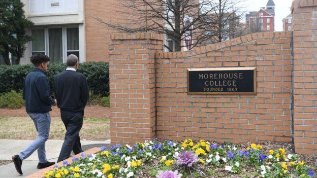 Morehouse College es una reconocida universidad de Atlanta.