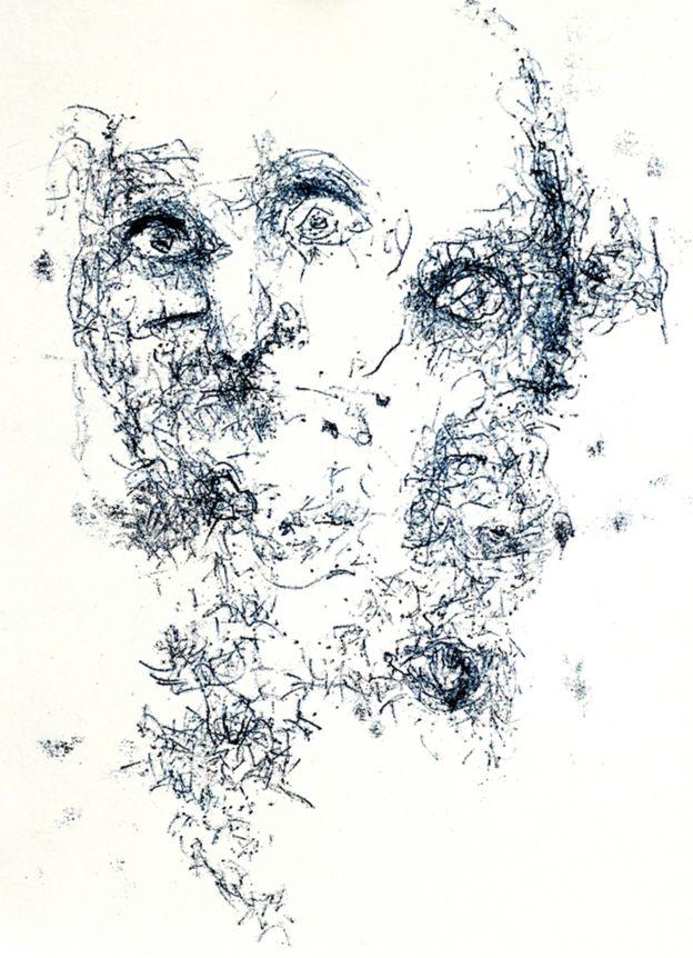 Autorretrato de Carlotta.