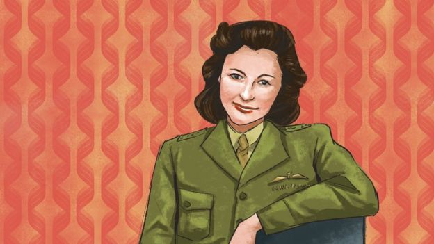 An illustration of Nancy Wake, an Australian spy during WW2