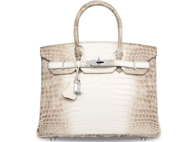 Diamond-encrusted Birkin