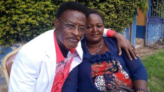 Freshley na mke wake wa pili kutoka Dorcas Nduku ambaye wakiwa Machakos
