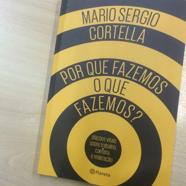 Livro de Cortella foi lançado em julho e traz reflexão sobre trabalho