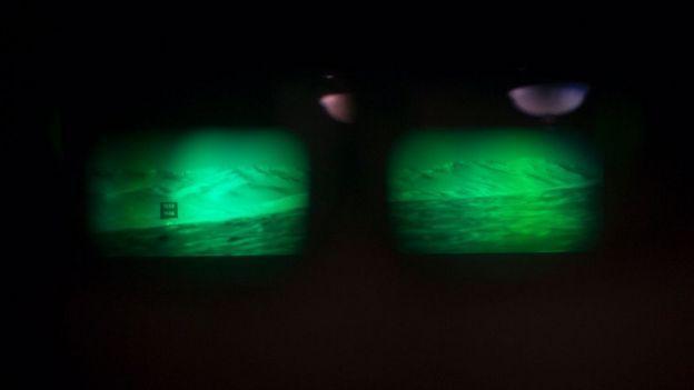 visi'on de Marte capturada con Hololens