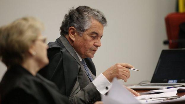 Marco Aurélio Mello, ministro do STF