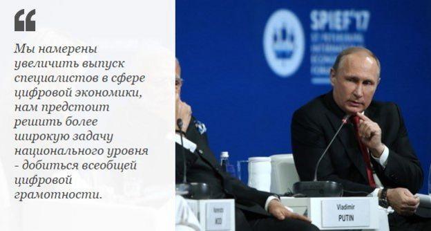 Первая часть выступления Путина
