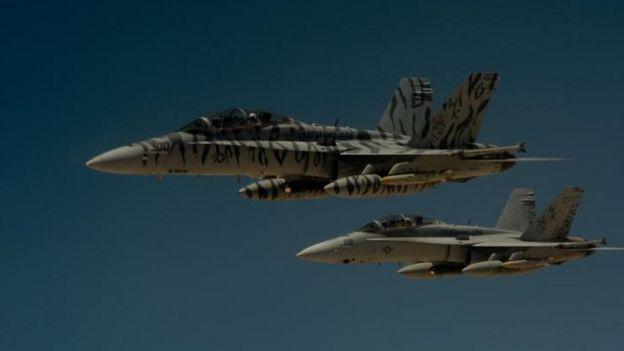 Aviones F-18