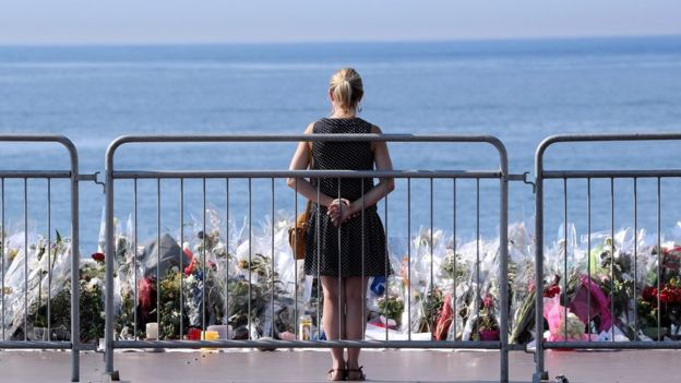 Tributes to victims of Nice attack