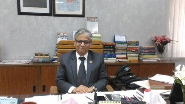 ঢাকা বিশ্ববিদ্যালয়ের উপাচার্য অধ্যাপক মোহাম্মদ আখতারুজ্জামান