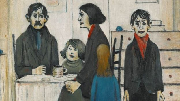Cilla Black's Lowry paintings fetch nearly £700k - BBC News