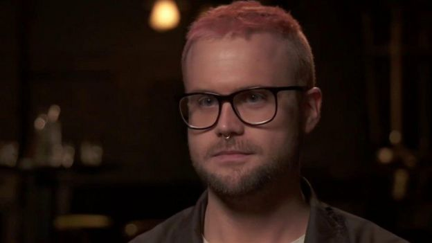 Christopher Wylie, who uncovered the Cambridge Analytica scandal.