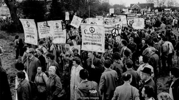 Campaña por el Desarmamento Nuclear.