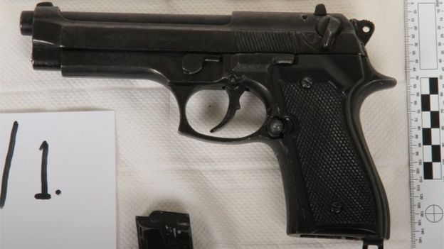 Exeter University replica handgun student jailed - BBC News