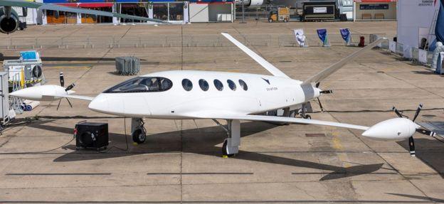 El avión de Alice de la firma Eviation