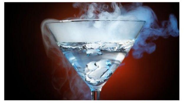 Nitrogen cocktail destroyed birthday woman's stomach - BBC News