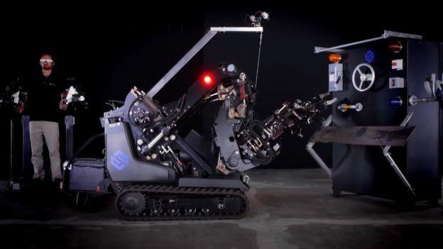 Robot en Sarcos