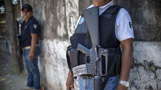 Fuerzas de Seguridad de México.