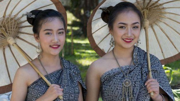 Mulheres em Laos