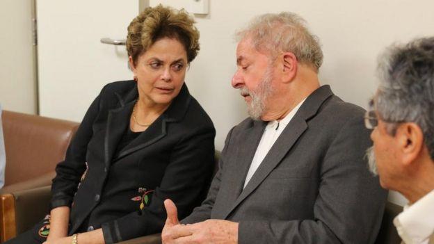 Dilma e Lula, em foto de arquivo
