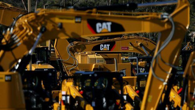 美國重型機器製造商卡特彼勒公司計劃將關稅引起的額外成本,轉嫁消費者。