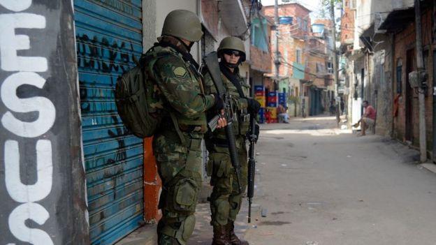 Operação na Favela do Kelson