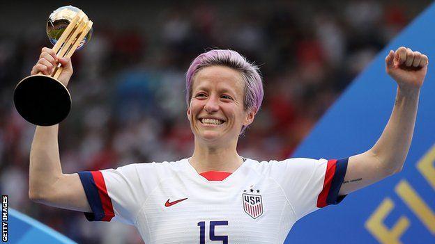 راپینو اخیرا با آمریکا برنده جام جهانی زنان شد