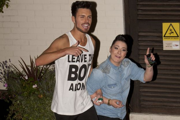 Rylan Clark-Neal and Lucy Spraggan