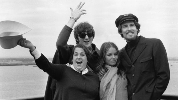 Los integrantes de The Mamas & The Papas