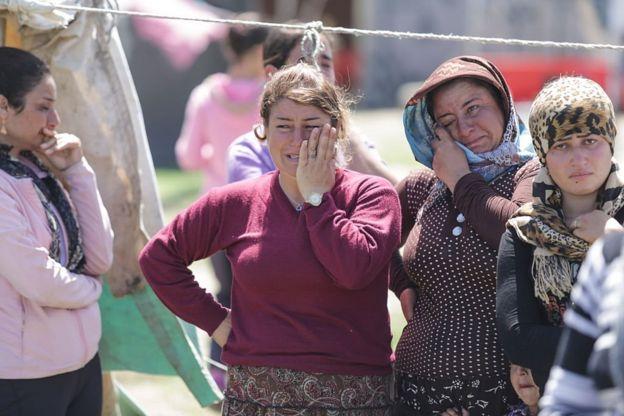 مخيم كافالا للاجئين في شمالي اليونان